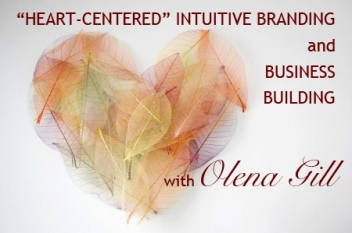 intuitive branding with Olena