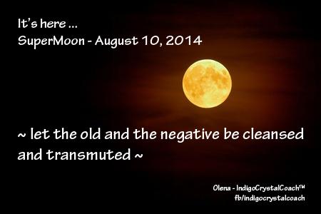 Supermoon August 10, 2014