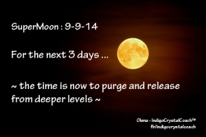 Now is the time to Release more deeply